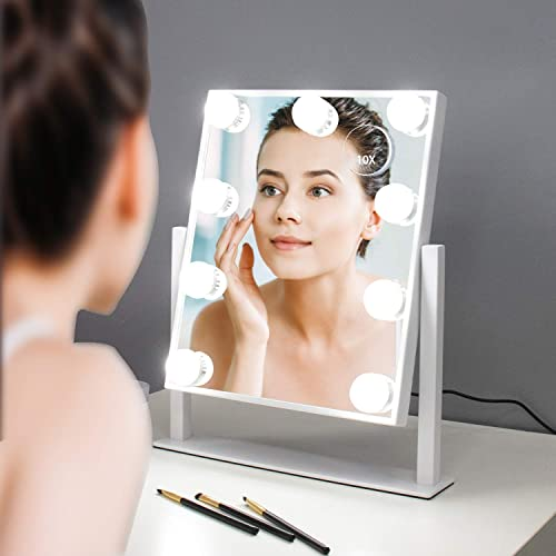 Infitrans Hollywood Style Led, What Bulbs For Makeup Mirror