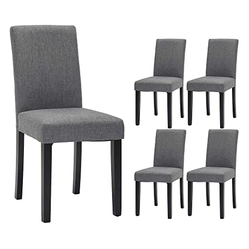 Dining Chairs Fabric Upholstered, Fabric Dining Room Chairs